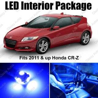 Honda CRZ Blue Interior LED Package (7 Pieces)