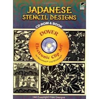 Japanese Stencil Designs CD ROM and Book (Dover …