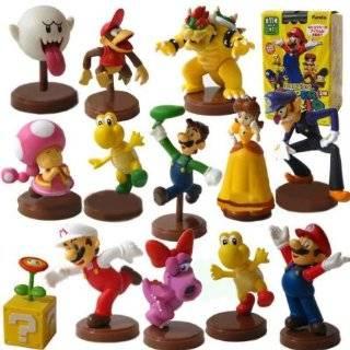 Nintendo Super Mario Bros Mini Figure Blind Packaging Case Of 13