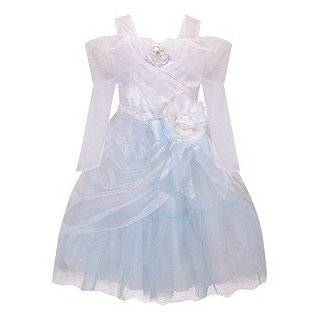 Princess Cinderella Wedding Dress Costume for