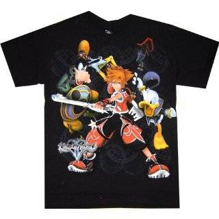 Kingdom Hearts II Halloween Town Goofy Black T Shirt Clothing
