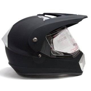 Dirt Bike MX ATV UTV Dual Sport Hybrid Helmet DOT with Shield (Medium