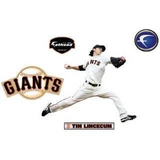 Fathead Junior San Francisco Giants Tim Lincecum Wall Graphic