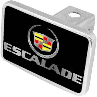 Cadillac Chrome Logo Tow Hitch Cover Plug   Old Logo