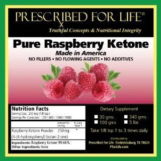 Raspberry Ketones 100% Pure USA Ketone Powder for Weight Loss