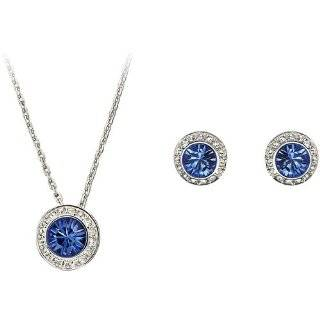 Gift Set Katie Holmes Inspired Synthetic Sapphire Jewelry