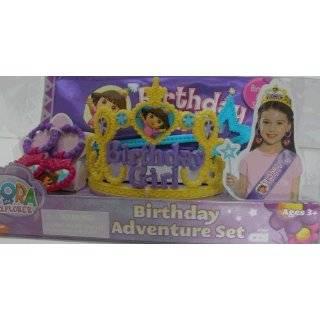 Dora the Explorer Princess Birthday Party Supplies 7 Dessert Plates