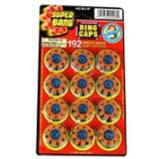 Super Bang 8 Shot Ring Caps   160 Shots with Covers