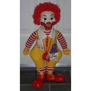 com Vintage Plush Doll  12 Mcdonalds Ronald Mcdonald Toys & Games