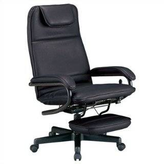 Power Rest Reclining Office Chair, Black (42 by 26.5 by27