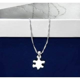 Autism Ribbon Puzzle Piece Charm  (Retail): Everything