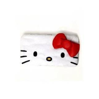Hello Kitty Face Plush Hinge Wallet