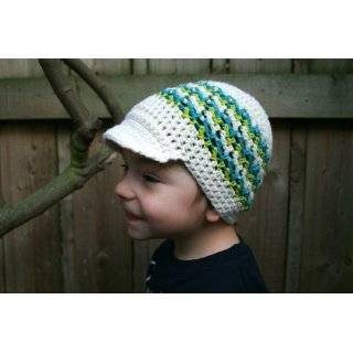 Infants Newsboy Cap Hat Vintage Baby Knit Knitting Pattern EBook