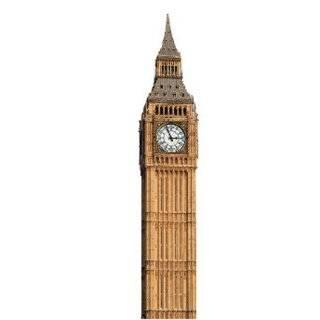 Big Ben (Clock)   Famous Landmark Huge Cardboard Cutout