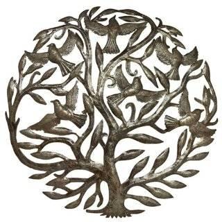 Tree of Life   Haitian Metal Art Wall Hanging Everything