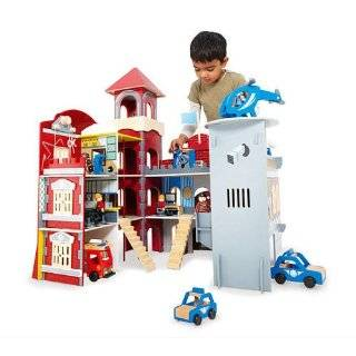 Rescue Center With Bonus Emergency Medical Station Toys & Games