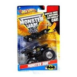 Hot Wheels Monster Jam Monster Duo GRAVE DIGGER 164 Scale