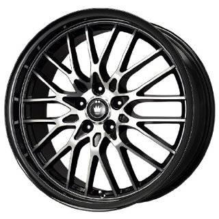 Konig Lightning Gloss Black Wheel with Machined Lip (18x8