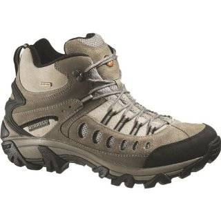 : New Merrell Outbound Mid Gore Tex Mens Hiking Boots   Black: Shoes