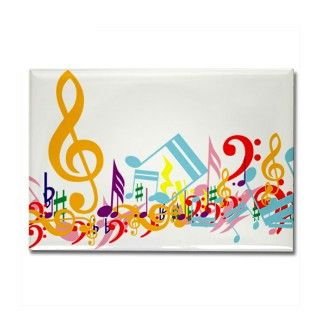 Colorful Musical Notes Clip Art | New Calendar Template Site