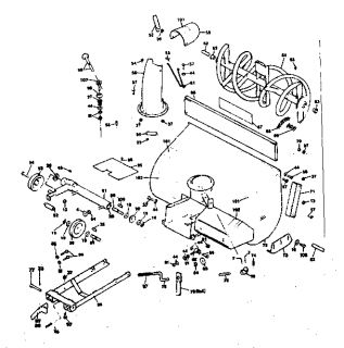 166995514_craftsman sears 36 in snow thrower attachment pulley troy bilt ltx 1842 lawn tractor wiring diagram troy free image  at suagrazia.org