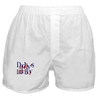 Daddys Little Boy Boxer Shorts by worldsfair