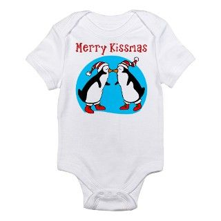 Christmas Penguin Baby Onesie Body Suit by spritzels