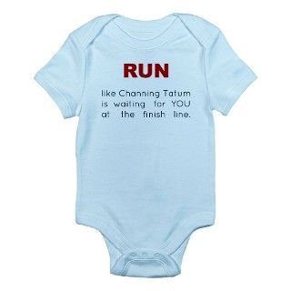 run for Channing Tatum Body Suit