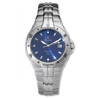 Bulova Marine Star Stainless Steel Quartz Watch