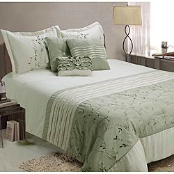 Fiona 7 piece King size Comforter Set