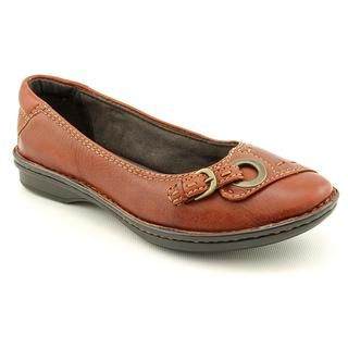 Clarks Artisan Womens Rustic Cliff Leather Casual Shoes   Wide
