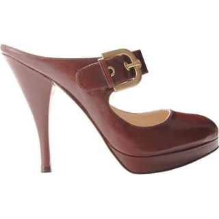 Womens Joan & David Jari Dark Brown Leather