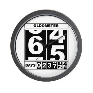 65Th Birthday Clock  Buy 65Th Birthday Clocks
