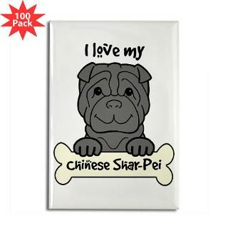 Black Chinese Shar Pei Cartoon : Dog Cartoons