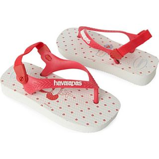 Minnie flip flops 2 5 years   HAVAIANAS   View all girls shoes   Shop