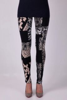 Best Print Snake Print Legging by Acne   Navy   Buy Leggings Online