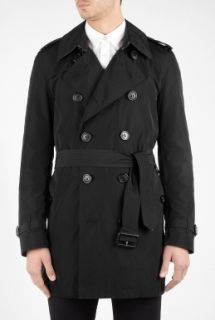 Black Pac A Mac Trench Coat by Burberry Brit   Black   Buy Coats Online