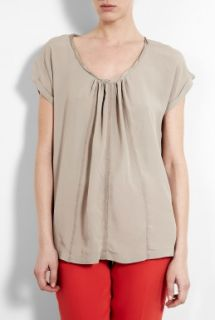 DAY Birger Et Mikkelsen  Day Una Crepe Blouse by Day Birger Et Mikkelsen