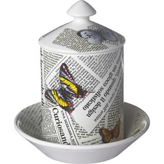 Ultime Notizie candle and plate   FORNASETTI   Gifts   Candles & home
