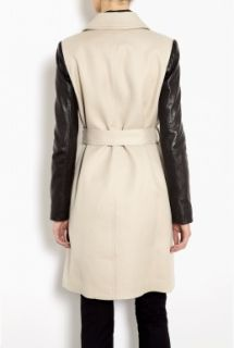DKNY  Cotton Twill Double Breasted Trench Coat by DKNY