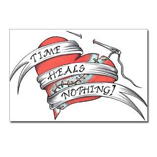 Time Heals Nothing Postcards (Package of 8)