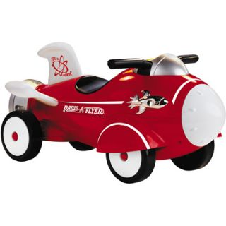 Radio Flyer Retro Rocket Foot to Floor Ride On