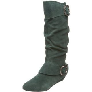 Dr. Scholls Womens Maddison Boot,Green,6.5 M US: Shoes