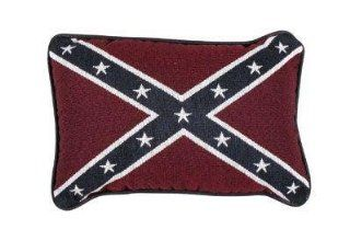 com   Set of 2 U.S. Confederate Flag Decorative Throw Pillows 9 x 12