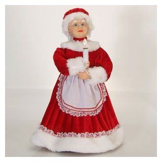 24 Lighted and Animated Traditional Mrs. Claus with