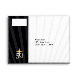 RSVP 50 Year Church Anniversary Envelope