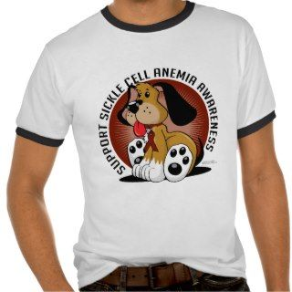Sickle Cell Anemia Dog T Shirts