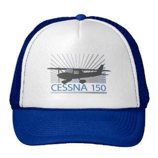 Cessna 150 Airplane Trucker Hats