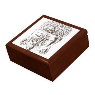 Thai Buddha Mask God Box Keepsake Boxes