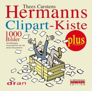 Hermanns Clipart Kiste. CD ROM ab Win 95. 1000 Bilder: Thees Carstens